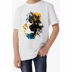 T shirt garçon blanc manche courte - NINJA du 3/4 au 9/11 ans enfant cadeau neuf