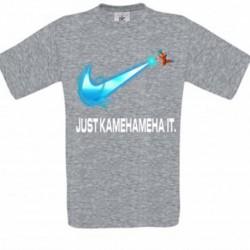 T shirt garçon gris manche courte - JUST KAMAMEHA IT du 3/4 au 9/11 ans enfant cadeau neuf