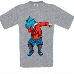 T shirt garçon gris manche courte - DAB Rouge du 3/4 au 9/11 ans enfant cadeau neuf