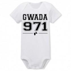 BODY BÉBÉ MIXTE MANCHES COURTES GWADA 971 du 0/3 au 18/23 mois vêtement cadeau neuf