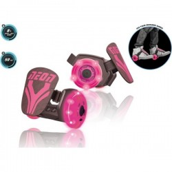 Rollers Neon Street Rose roller roues lumineuses idée cadeau anniversaire noel jeux plein air neuf