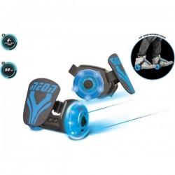 Rollers Neon Street bleu roller roues lumineuses idée cadeau anniversaire noel jeux plein air neuf
