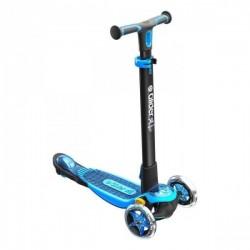 Trottinette Y Glider XL Deluxe 3 roues ultra complète Bleu jeux plein air neuf