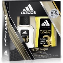 Adidas eau de toilette + gel douche homme foot parfum cadeau neuf