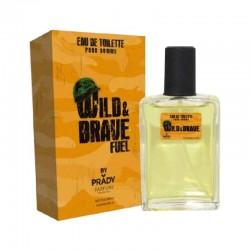 Eau de toilette Wild and Brave - Prady homme parfum cadeau anniversaire neuf