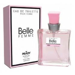 Eau de toilette Belle femme - Prady - Parfum générique - 100 ml - femme cadeau anniversaire neuf