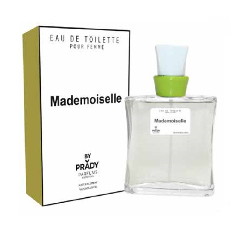 Eau De Toilette Mademoiselle Prady Parfum Générique 100 Ml
