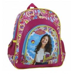 Sac à dos Soy Luna Disney 30 cm qualité supérieure cartable rentrée scolaire maternelle enfant fille neuf