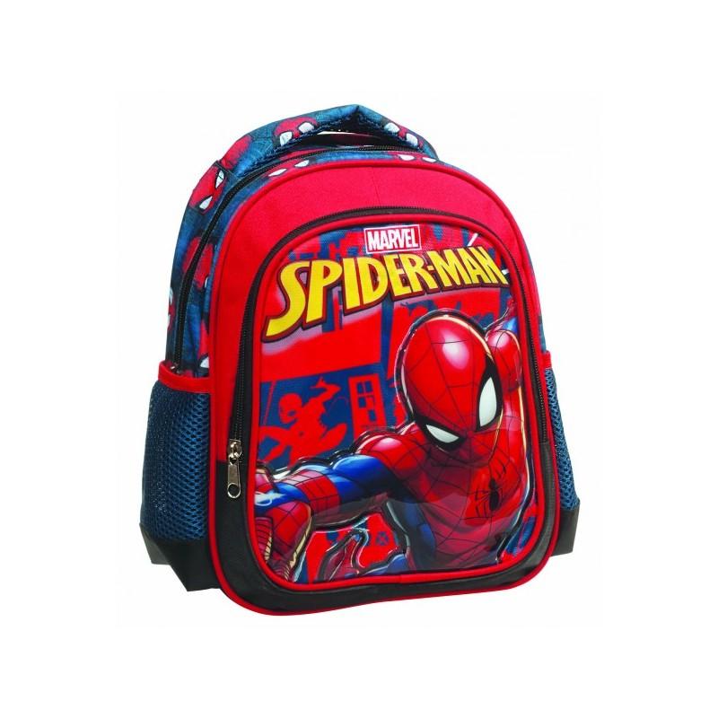 Sac à dos Spider-man 31cm qualité supérieure cartable rentrée scolaire  maternelle enfant neuf. Loading zoom 6648ae5d588