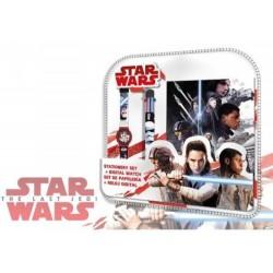Set Star Wars v02 Disney Bloc Note + montre + stylo 6 couleurs idée cadeau anniversaire noel neuf