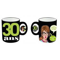 Mug tasse céramique 30 ans Femme anniversaire IDEE CADEAU NEUF