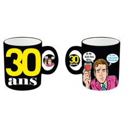 Mug tasse céramique 30 ans Homme anniversaire IDEE CADEAU NEUF