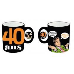 Mug céramique 40 ans Homme anniversaire IDEE CADEAU NEUF