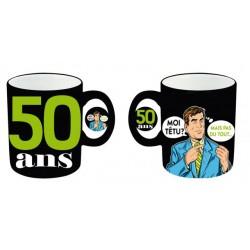 Mug céramique 50 ans Homme anniversaire IDEE CADEAU NEUF