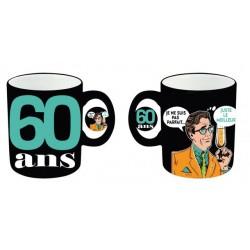 Mug tasse céramique 60 ans Homme anniversaire IDEE CADEAU NEUF