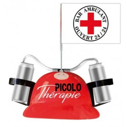 Casque Anti-soif Picolo thérapie HUMOUR ANNIVERSAIRE FETE SOIREE IDEE CADEAU NEUF