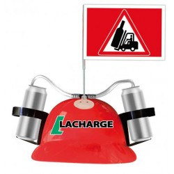 Casque Anti-soif Lacharge HUMOUR ANNIVERSAIRE FETE SOIREE IDEE CADEAU NEUF