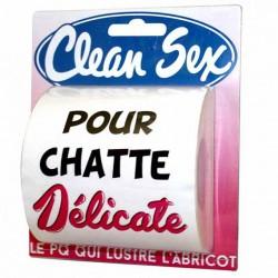 Papier Toilette Clean Sex Femme HUMOUR ANNIVERSAIRE FETE SOIREE IDEE CADEAU NEUF