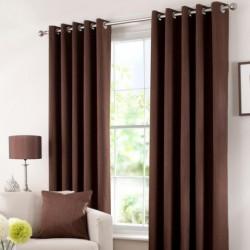 Rideau Isolant thermique Chocolat 140x240 cm décoration fenêtre de maison neuf