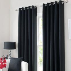 Rideau Isolant thermique Noir 140x240 cm décoration fenêtre de maison neuf