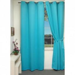 Rideau Isolant thermique bleu Turquoise 140x240 cm décoration fenêtre de maison neuf