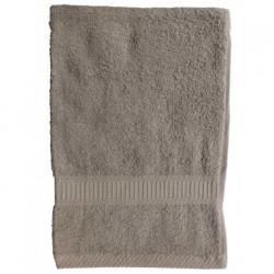 Serviette de toilette Beige 50x90 cm 100 % coton unie linge de toilette salle de bain neuf