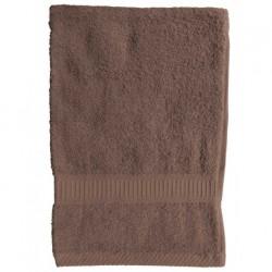 Serviette de toilette Bronze 50x90 cm 100 % coton unie linge de toilette salle de bain neuf