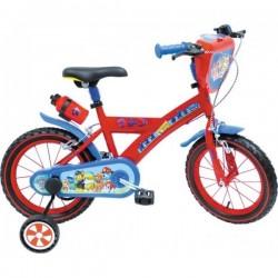 Vélo 16 Pouce Pat Patrouille Disney Mondo enfant anniversaire cadeau plein air garçon neuf