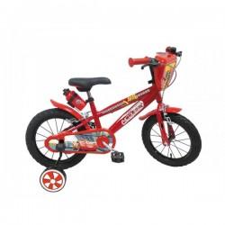 Vélo 16 pouces Cars Disney - Mondo enfant anniversaire cadeau plein air garçon neuf