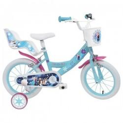Vélo 14 Pouce La reine des neiges Disney Frozen licence officielle fille idée cadeau anniversaire noël plein air neuf