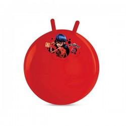 Ballon sauteur décoré Miraculous 50 cm de diamètre enfant jeu jouet Plein air neuf