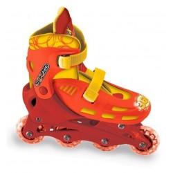 Paire de Rollers on line Cars Disney T 33/36 réglables jeux Plein air idée cadeau anniversaire noel neuf