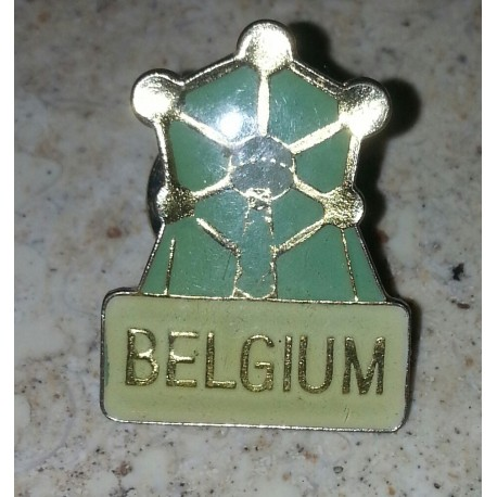 pin's collection Belgium + attache metal