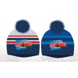 Bonnet à Pompon Cars Flash Mc Queen enfant garcon hiver vetements neuf