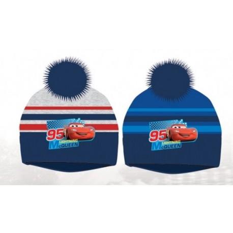 Bonnet à Pompon Cars Flash Mc Queen enfant garcon hiver vetements neuf