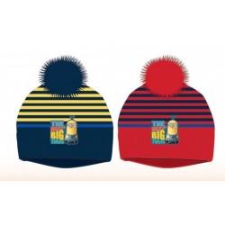 Bonnet à Pompon les Minions enfant garcon hiver vetements neuf