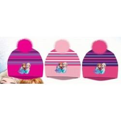 Bonnet à Pompon La reine des neiges Frozen Disney enfant vêtements fille hiver neuf