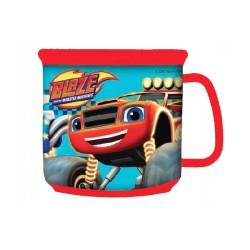 Tasse Mug plastique avec poignet Blaze et les monsters machines Garçon neuf