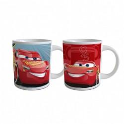 Tasse Mug céramique Cars Flash Mc Queen enfant garçon idée cadeau anniversaire neuf