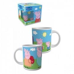 Tasse Mug céramique Peppa Pig enfant fille idée cadeau anniversaire noel neuf