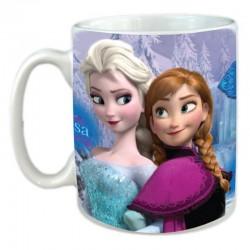 Tasse Mug céramique la reine des neiges -frozen Disney enfant fille idée cadeau anniversaire noel neuf