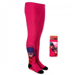 Lot de 2 collants Miraculous du 3 AU 8 ans ENFANT FILLE VETEMENT SOUS LICENCE OFFICIELLE NEUF