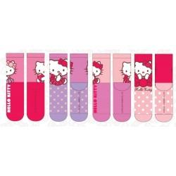 Lot de 4 Paires de chaussettes fille Hello Kitty taille 23/26-27/30-31/34 licence officielle neuve