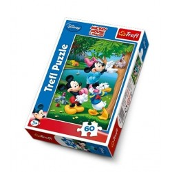Puzzle 60 pièces marque TREFL Mickey Disney jeux jouet idée cadeau anniversaire noel neuf