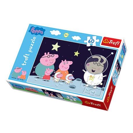 Puzzle 60 pièces marque TREFL Peppa Pig jeux jouet idée cadeau anniversaire noel neuf