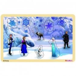 Puzzle en bois La reine des neiges Frozen Disney enfant idée cadeau anniversaire noel neuf