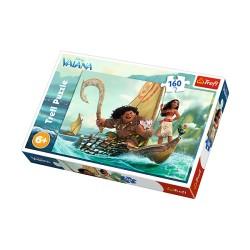 Puzzle 160 pièces Vaiana Disney marque TREFL jeux jouet idée cadeau anniversaire noel neuf