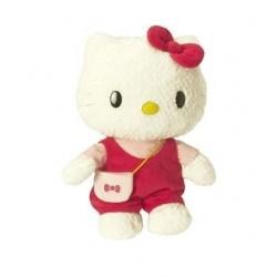Peluche Hello Kitty velours 40cm fille enfant idée cadeau anniversaire noel neuf