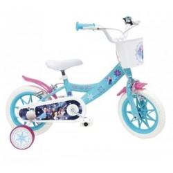 Vélo 12 Pouce 3/6 ans La reine des neiges Frozen Disney licence officielle fille idée cadeau anniversaire noël plein air neuf