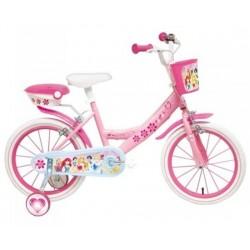 Vélo 14 Pouce Princesse Disney licence officielle fille idée cadeau anniversaire noël plein air neuf